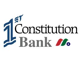 银行控股公司:第一机构银行1st Constitution Bancorp(FCCY)