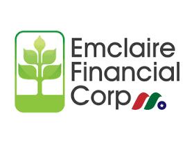 区域银行控股公司:恩克莱尔金融Emclaire Financial(EMCF)