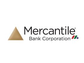 银行控股公司:莫肯特尔银行Mercantile Bank Corporation(MBWM)