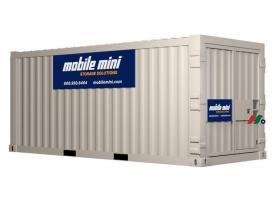 便携式存储和特殊容纳解决方案:迷你移动存储Mobile Mini, Inc.(MINI)