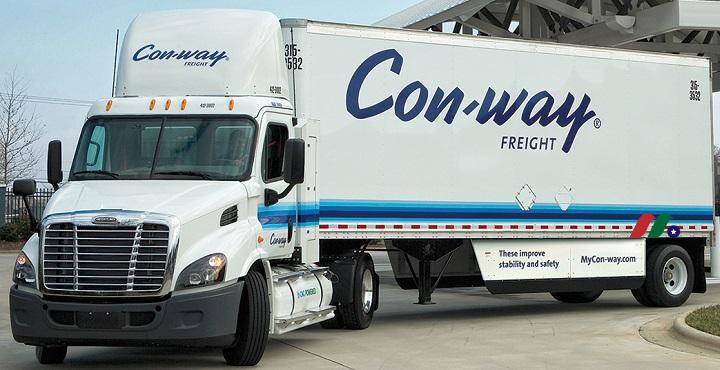 康威物流:Con-way(CNW)——退市
