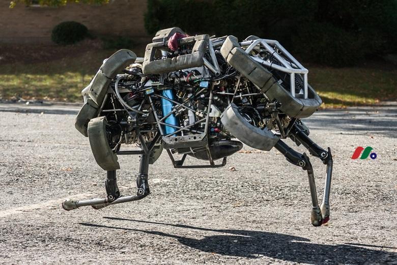 软银旗下全球领先机器人公司:波士顿动力公司Boston Dynamics(原谷歌旗下)