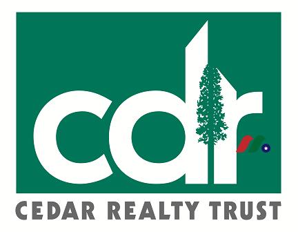 REIT公司:西连购物中心Cedar Realty Trust(CDR)