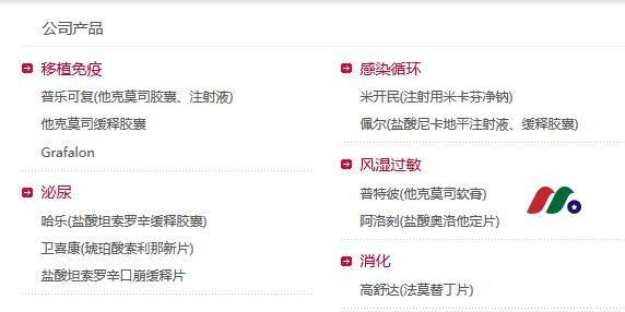 日本第二大处方药制药企业:安斯泰来制药Astellas Pharma(ALPMY)