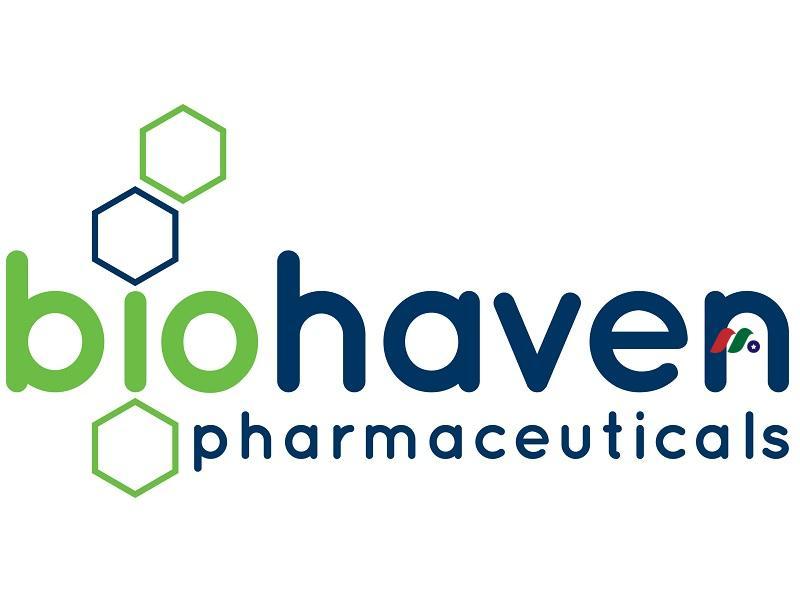 生物制药公司:生物医药控股Biohaven Pharmaceutical Holding Company(BHVN)