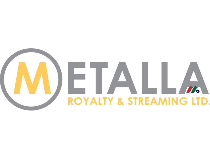 贵金属流和特许权:Metalla Royalty & Streaming Ltd.(MTA)