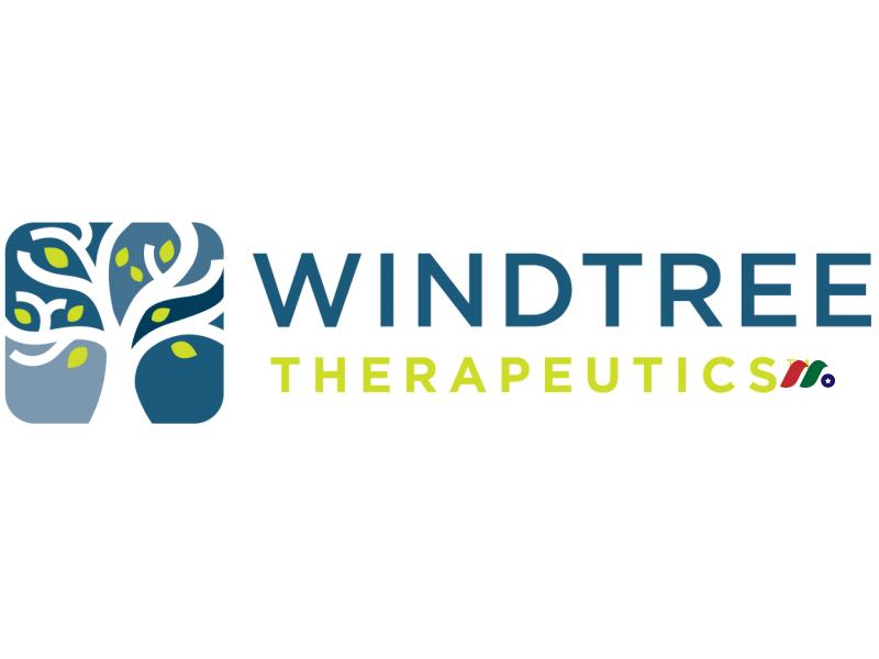 生物技术和医疗设备公司:Windtree Therapeutics, Inc.(WINT)