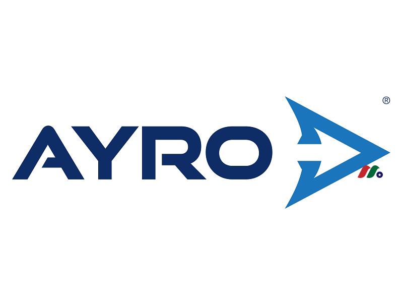 全电动汽车设计制造商:Ayro, Inc.(AYRO)